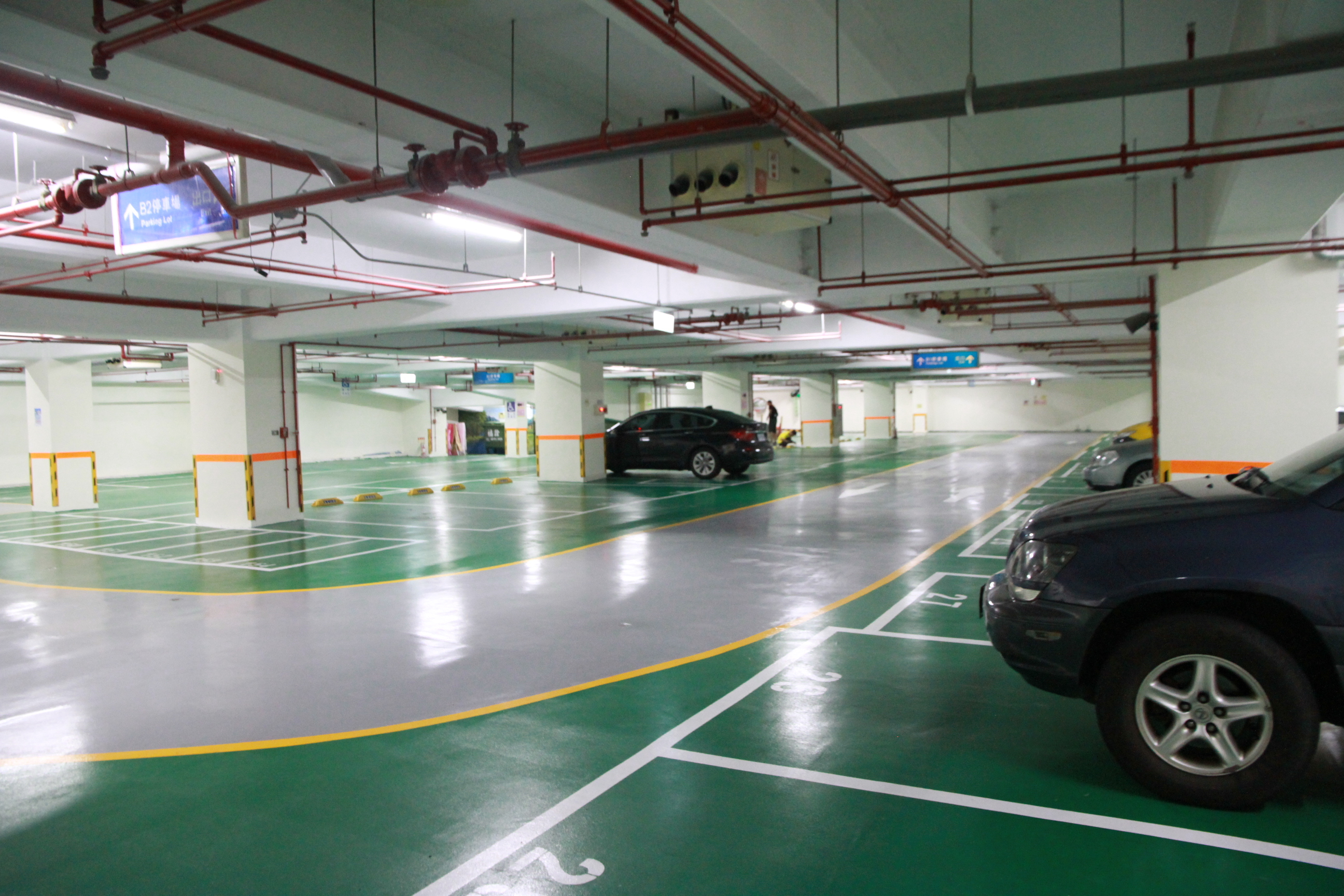 B1 B2 Parking Area Slsc